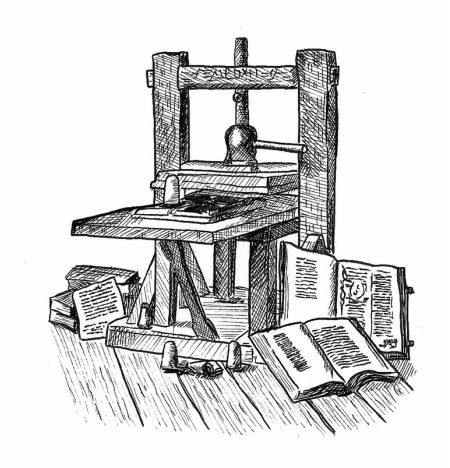 gutenberg printing press the renaissance